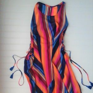Other - Serape Cover Up with Tassels